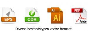 Bestandtypen vector formaat